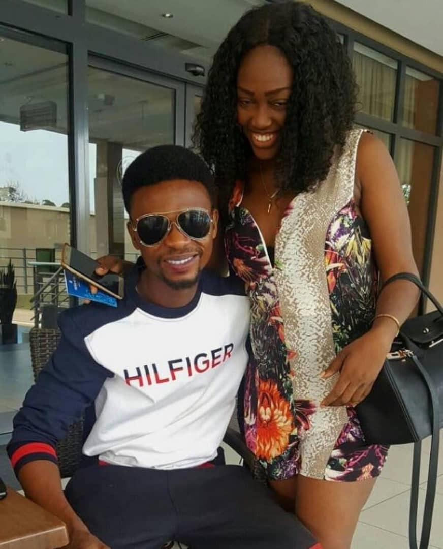Comedian I Go Dye welcomes baby girl with actress, Eki Okoro (photos)