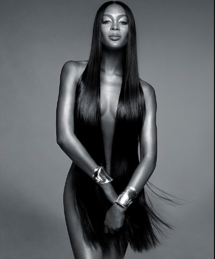Naomi Campbell poses completely nude for sultry new Nars beauty campaign (Photo)
