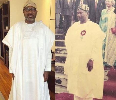 Femi Otedola pays glowing tribute to his dad who died 5-years ago