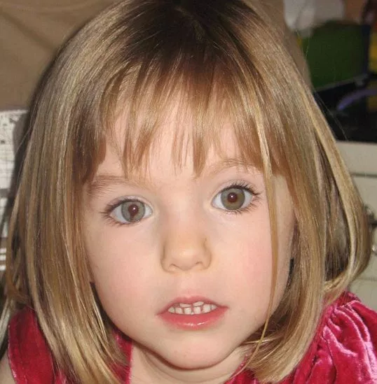 German child killer named as suspect in the disappearance of Madeleine McCann