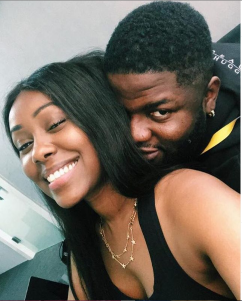 Skales and girlfriend, Neza celebrate 1st anniversary with sweet messages
