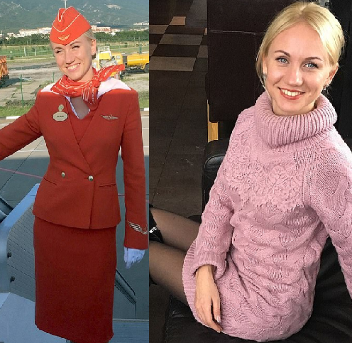 Heroic stewardess tells how she kicked open the door and pushed passengers out of burning plane as she narrates the terror