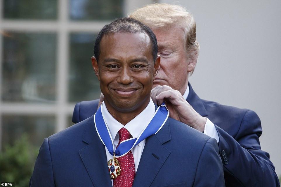 ?President Trump calls Tiger Woods