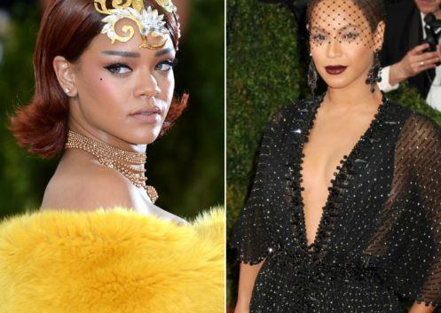 Rihanna, Beyonce, Taylor Swift; Here