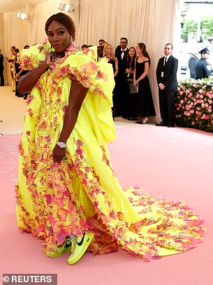 Serena William takes the stage at Met Gala 2019 in skimpy outfit