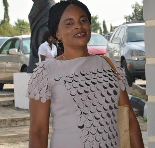 Photo: NSCDC staff all smiles as she is arraigned for