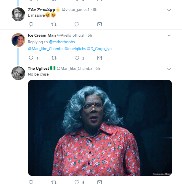 Busty Nigerian lady leaves men drooling over her new photos on Twitter?(Screenshots)