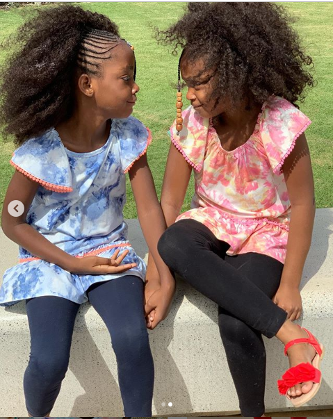 Timi Dakolo shares adorable photos of his beautiful daughters, Hallel and Zoe