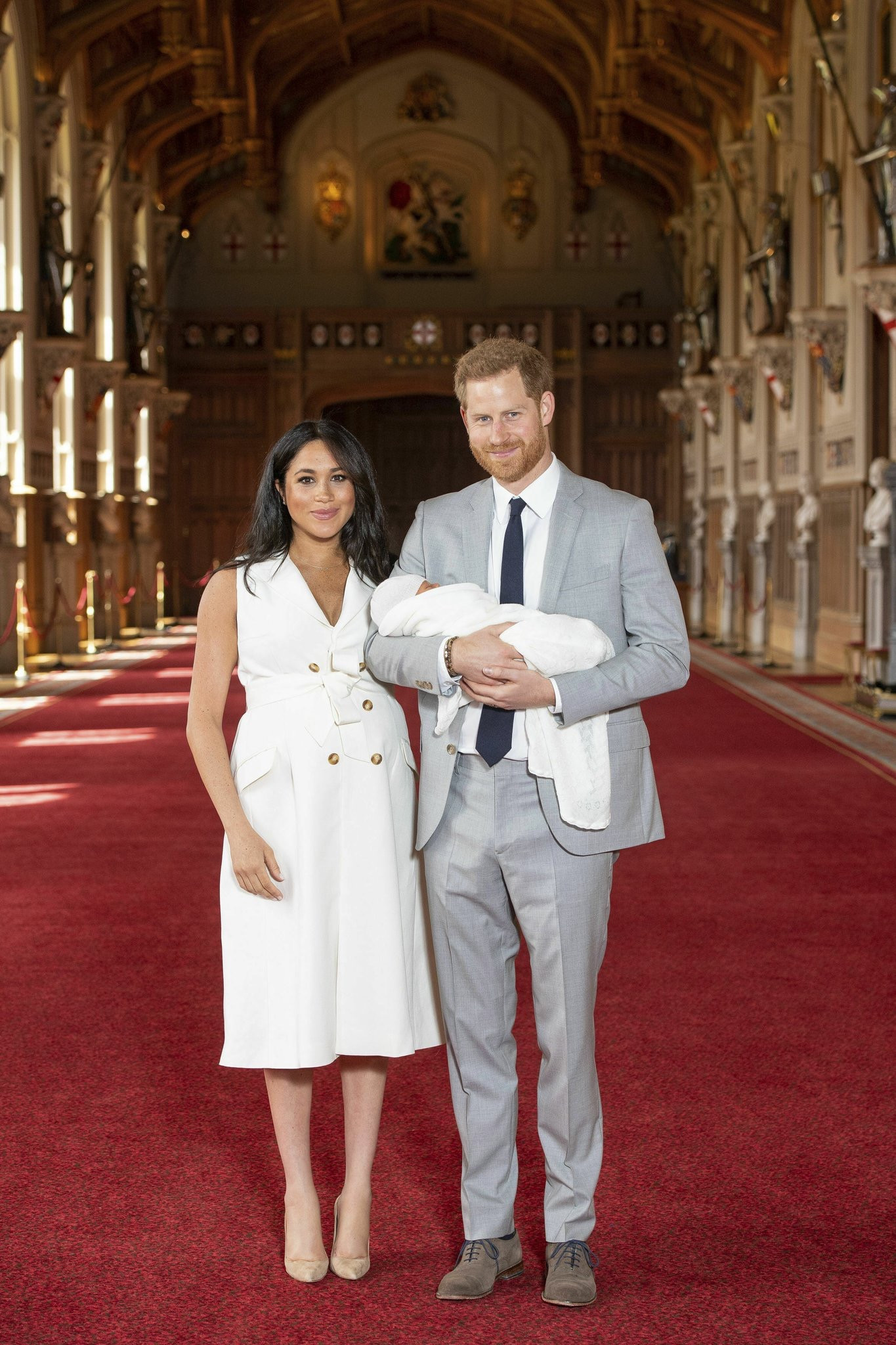 First photos of Prince Harry & Meghan Markle?s baby boy