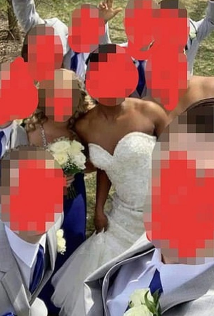Outrage after groom