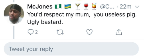 Two Nigerian men drag each other on Twitter then their fight takes an unexpected turn