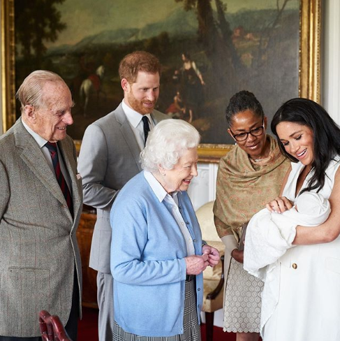 Baby Sussex's Name is Archie Harrison Mountbatten-Windsor