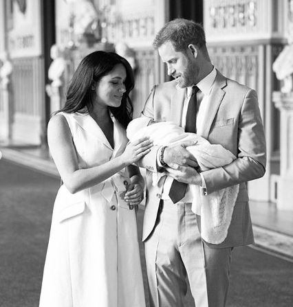 The Duke and Duchess of Sussex announce the name of their son. It