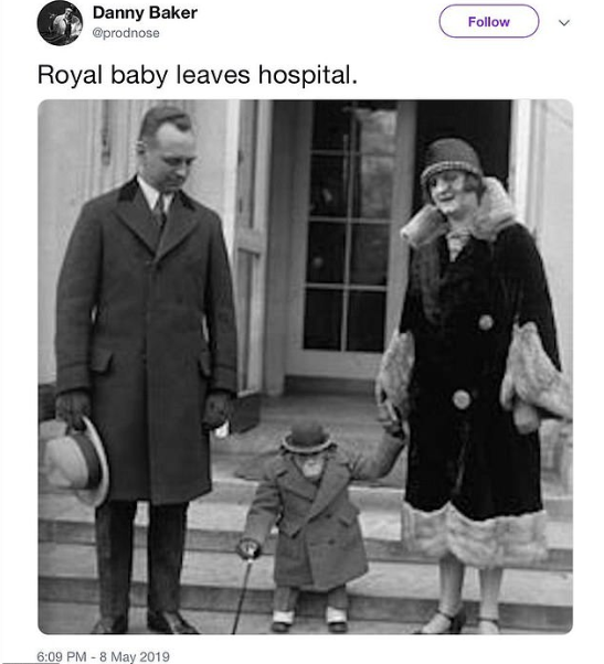 Danny Baker is fired by the BBC for racist tweet likening royal baby to a monkey