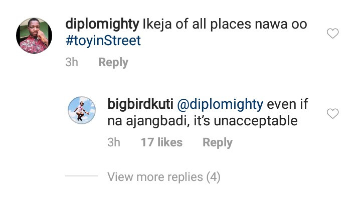 Seun Kuti calls out the government for the poor state of Ikeja roads after it rained