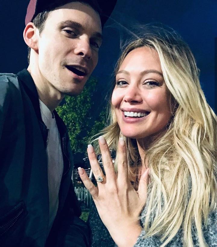 Hilary Duff is engaged to singer Matthew Koma
