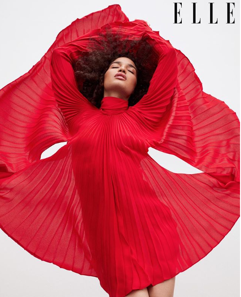 MtF transgender model Indya Moore covers May issue of ELLE magazine