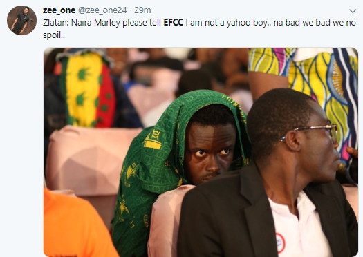 Nigerians taunt Naira Marley following his arrest by EFCC