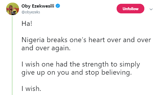 It has become harder for me to discourage young Nigerians from relocating - Oby Ezekwesili