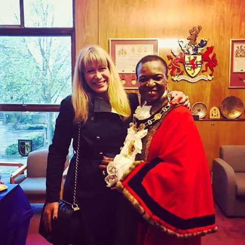 Photos: Nigeria-born woman, Dr. Kate Anolue sworn in as Mayor of Enfield, UK