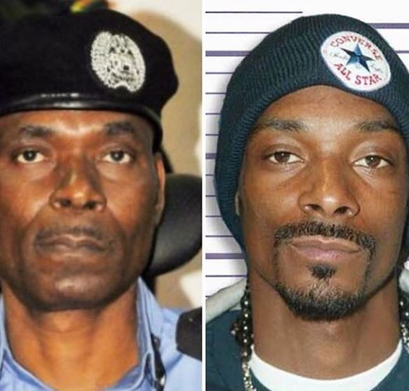 Snoop Dogg VS Nigerian Police IG: Can you see the resemblance (Photo)