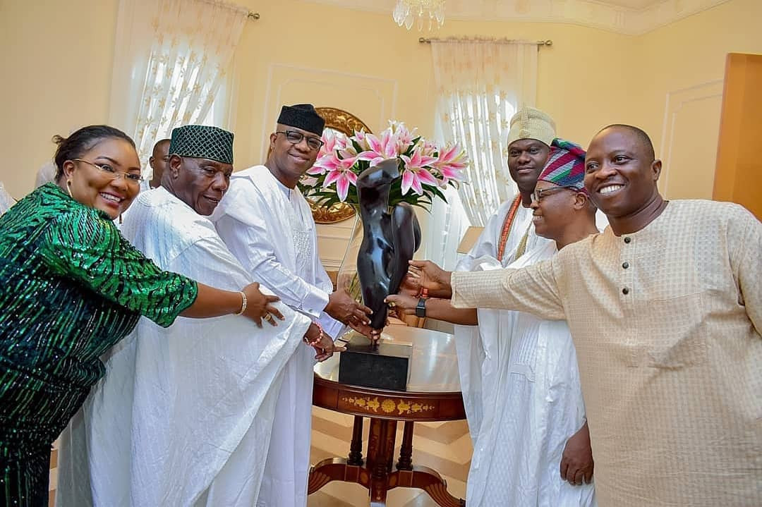 Ooni Of Ife pays?courtesy visit to Ogun state Governor elect, Dapo Abiodun (Photos)