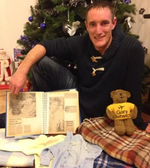 Man who was abandoned in Gatwick Airport toilet as a baby finally finds his parents 33 years after