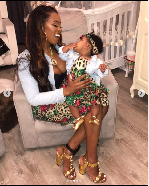 Rapper, Remy Ma and her daughter MacKenzie rock matching outfits in adorable photos