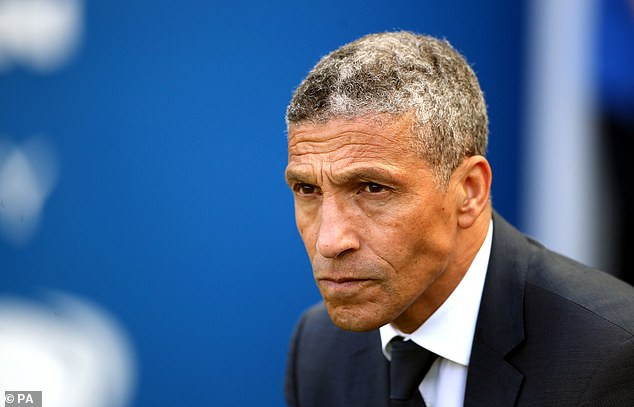 Brighton sack manager Chris Hughton after 4-1 home defeat to Manchester City