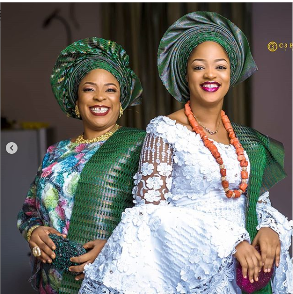 Ooni of Ife?s wife and her mum pose in new beautiful photos