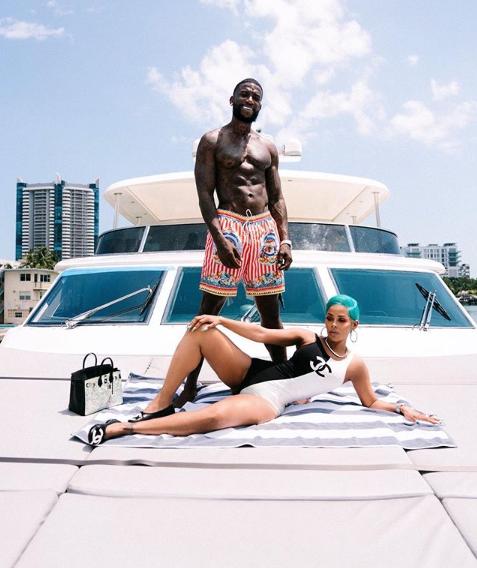 Rapper, Gucci Mane and wife Keyshia Ka