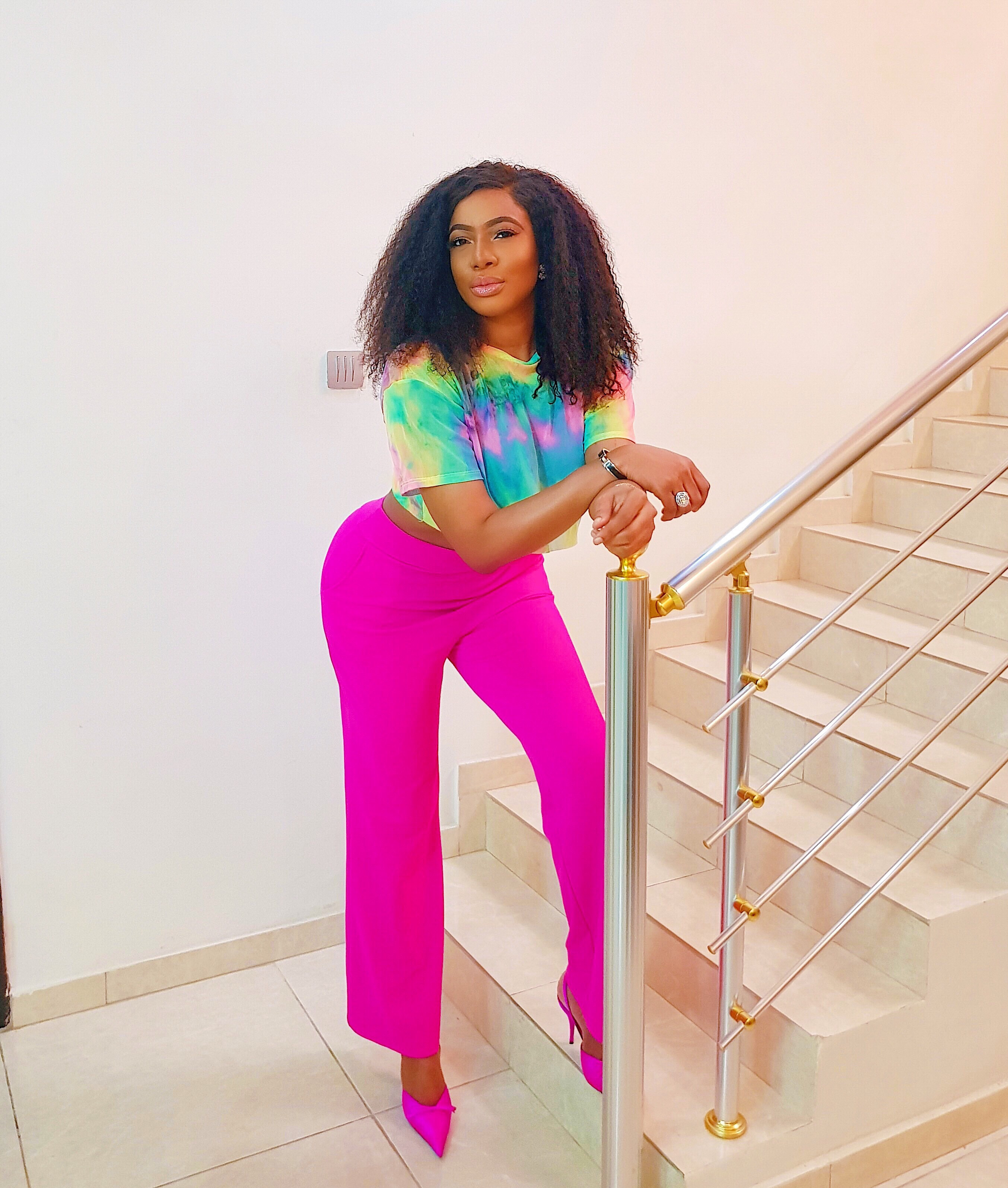 Chika Ike shows off her curves in new photos