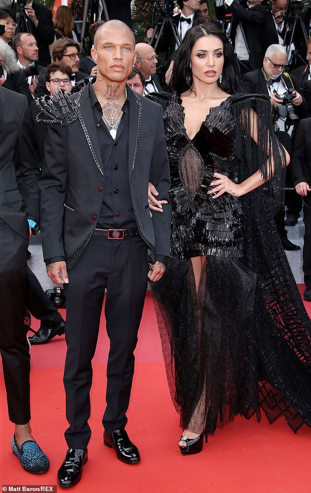 Hot Felon, Jeremy Meeks cosies up to model Andreea Sasu at Cannes Film Festival amid rumours he