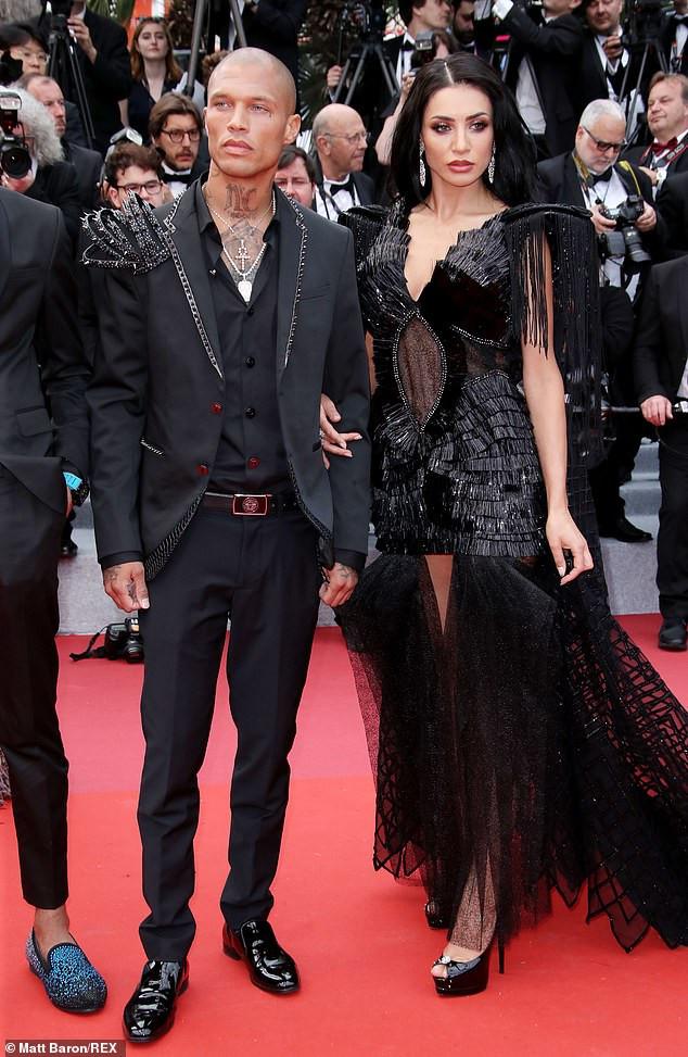 Hot Felon, Jeremy Meeks cosies up to model Andreea Sasu at Cannes Film Festival amid rumours he