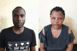 Photos: Nigerian couple arrested in India for stealing money from ATMs by inserting a skimmer and micro cameras