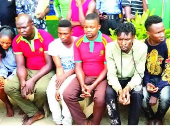 NEWS: Police Arrest Petrol Station Attendants For Conniving With ATM Fraudsters in Abuja
