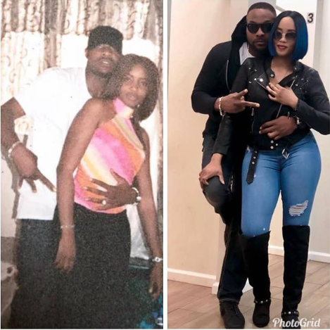 """""""If she was there when you were Nothing, Never loose her""""  Actor Ninalowo says as he shares throwback photo of him and his wife"""