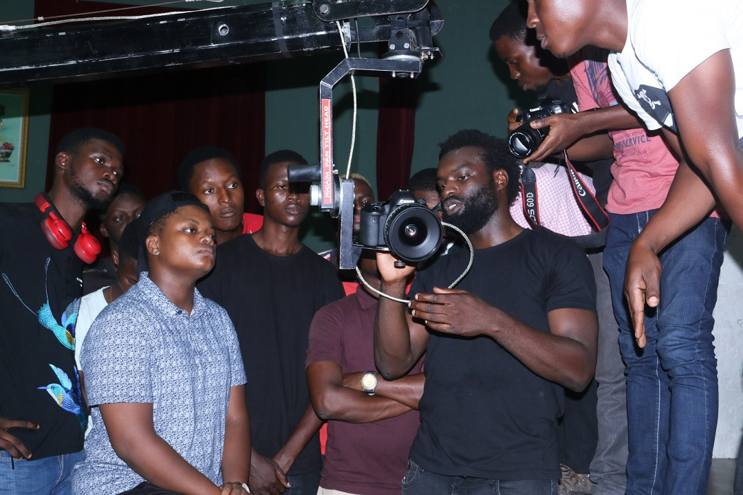 Meji Alabi Teaches Music Video Production at Canon-PEFTI Film Workshops