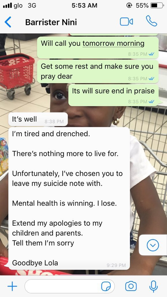 Twitter users rally round to rescue Nigerian mum who threatened to commit suicide