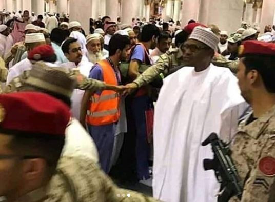 Photos: President Buhari arrives Kingdom of Saudi Arabia for Umrah