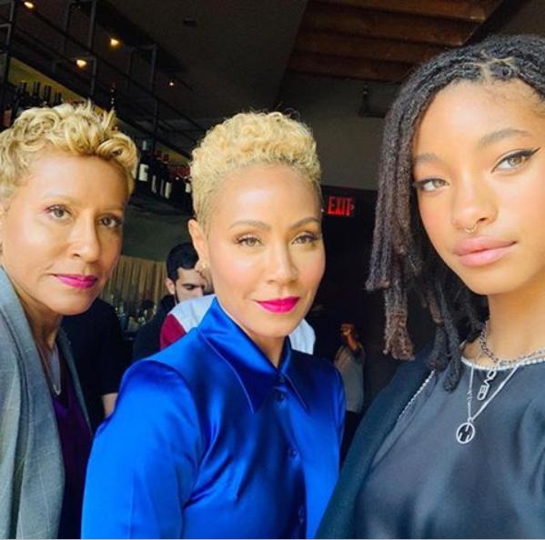 Stunning three-generation photo of Jada Pinkett-Smith, her mom and daughter?