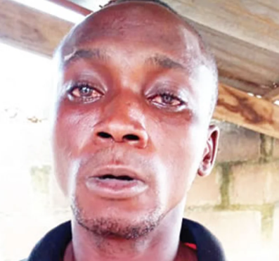 Photo: Ogun police arrest man for allegedly killing his father