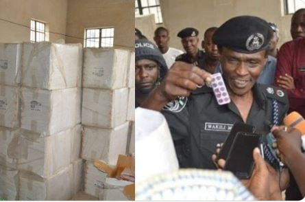 Kano State Police intercept 303 cartons of Tramadol