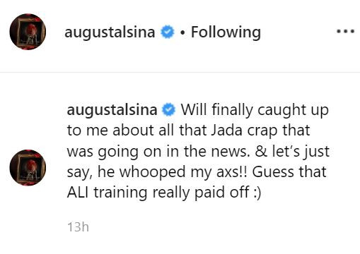 August Alsina claims Will Smith whooped his ass over his rumored affair with Jada Pinkett (Photo)