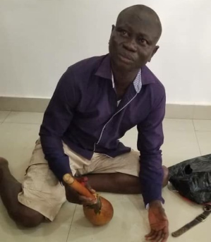 "Man arrested over attempt to dupe Ogun Commissioner of Police""photo"