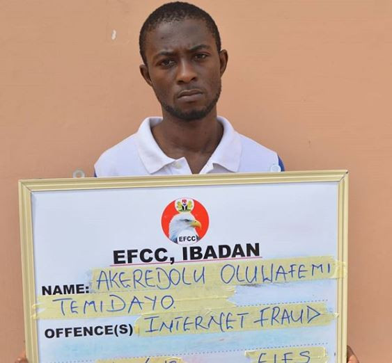 24-year old man bags eight months jail-term for for hiding vital information from EFCC