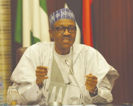 The sweeping war?against drug trafficking will be intensified - President Buhari