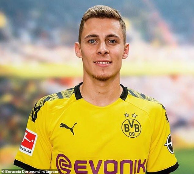 Borussia Dortmund announces ?30m signing of Thorgan Hazard on five-year deal from Borussia Monchengladbach