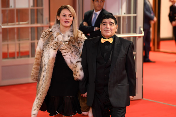Diego Maradona ?arrested? at airport after ex-girlfriend sued him for  $9 million