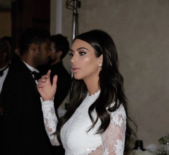 Kim Kardashian shares unseen photos from her wedding day as she and Kanye West mark 5th wedding anniversary